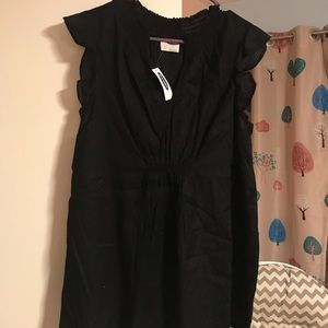 Black Old Navy Maternity Top NWT